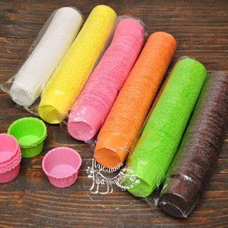 Капсулы бумажные для конфет, капкейков