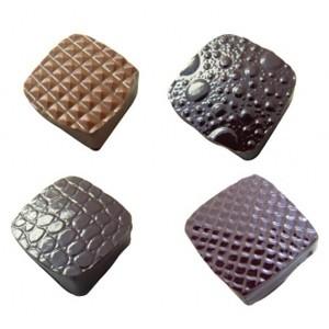 Рельефные листы для шоколада